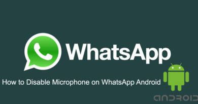 How to Disable Microphone on WhatsApp Android
