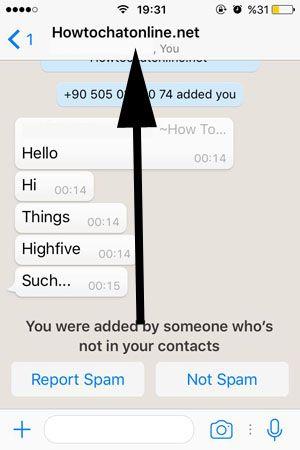 Whatsapp Group Chats