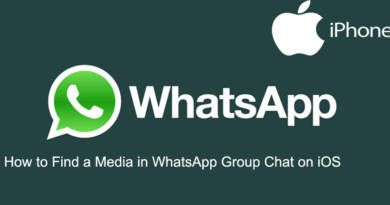 How to Find a Media in WhatsApp Group Chat on iOS
