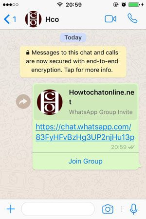 How to Invite Someone to a WhatsApp Group via Link on iPhone How