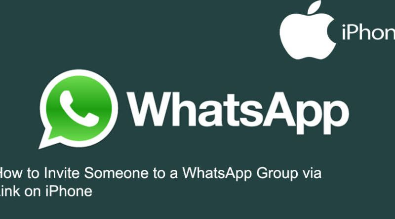 How to Invite Someone to a WhatsApp Group via Link on iPhone