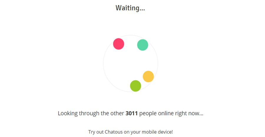 Chatous online dating
