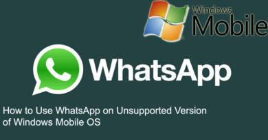 How to Use WhatsApp on Unsupported Version of Windows Mobile OS