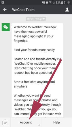 WeChat Asking a Friend to Verify Account | How to Chat Online