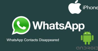 WhatsApp Contacts Disappeared
