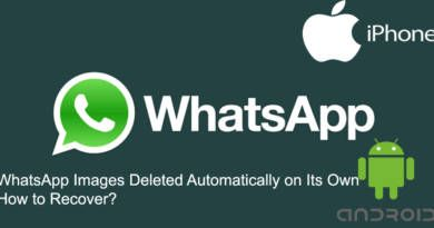 WhatsApp Images Deleted Automatically on Its Own How to Recover