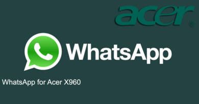 WhatsApp for Acer X960