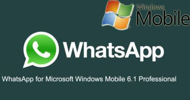 WhatsApp for Microsoft Windows Mobile 6 Professional