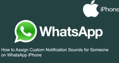 How to Assign Custom Notification Sounds for Someone on WhatsApp iPhone