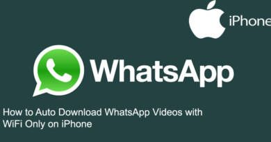 How to Auto Download WhatsApp Videos with WiFi Only on iPhone