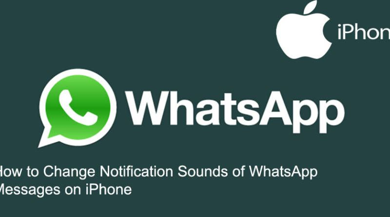 How to Change Notification Sounds of WhatsApp Messages on iPhone
