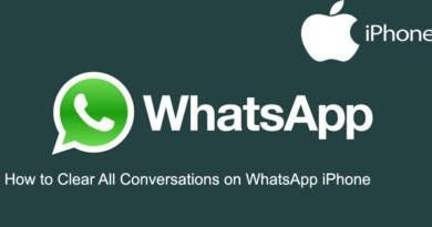 How to Clear All Conversations on WhatsApp iPhone