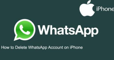 How to Delete WhatsApp Account on iPhone
