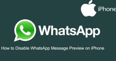 How to Disable WhatsApp Message Preview on iPhone