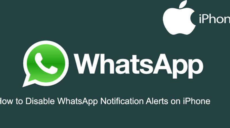 How to Disable WhatsApp Notification Alerts on iPhone