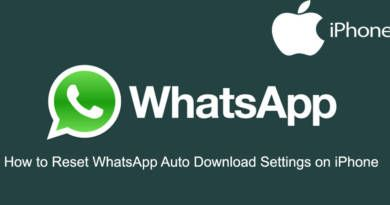 How to Reset WhatsApp Auto Download Settings on iPhone
