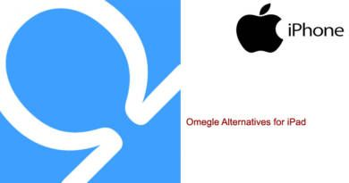 Omegle Alternatives for iPad