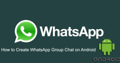 How to Create WhatsApp Group Chat on Android