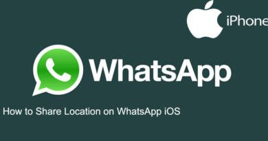 How to Share Location on WhatsApp iOS
