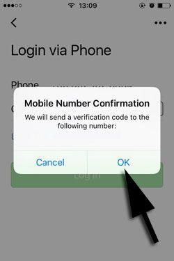 Go chat login problem