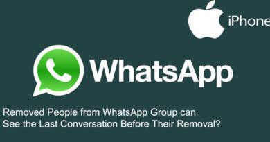 Can Removed People See Last Conversations on WhatsApp Group