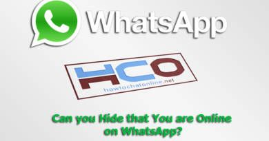 Can you Hide that You are Online on WhatsApp