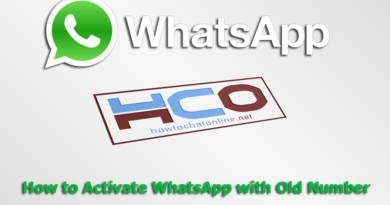 How to Activate WhatsApp with Old Number