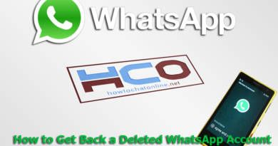 How to Get Back a Deleted WhatsApp Account