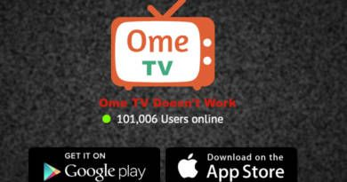 Ome TV Doesn't Work