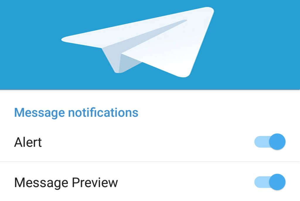 Telegram Message Notifications Don't Work