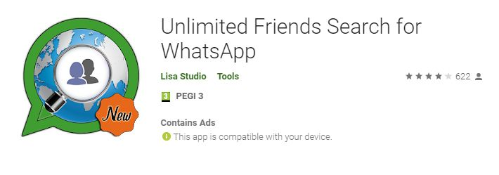 Top WhatsApp Friend Finder Applications on Play Store- List 3 Unlimited Friend Search for WhatsApp