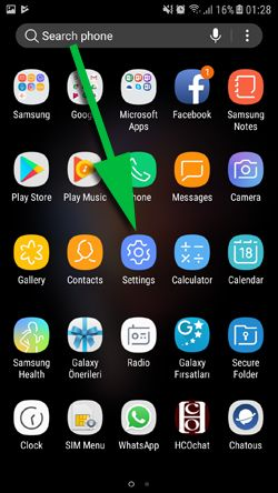 WhatsApp Backup Error in Roaming - Tap Settings
