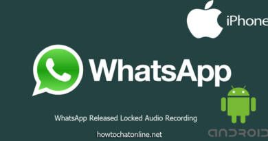 WhatsApp Released Locked Audio Recording