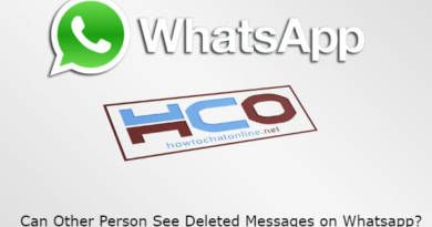 Can Other Person See Deleted Messages on Whatsapp