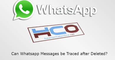Can Whatsapp Messages be Traced after Deleted