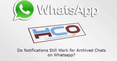 Do Notifications Still Work for Archived Chats on Whatsapp