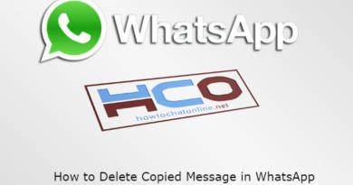 How to Delete Copied Message in WhatsApp