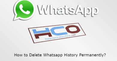 How to Delete Whatsapp History Permanently