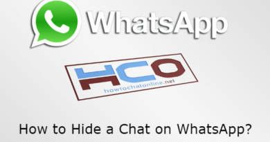 How to Hide a Chat on WhatsApp
