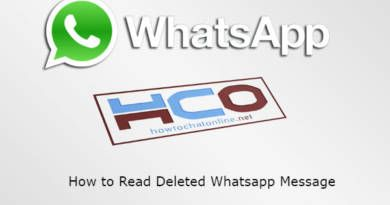 How to Read Deleted Whatsapp Message