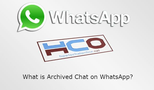 What is Archived Chat on WhatsApp?
