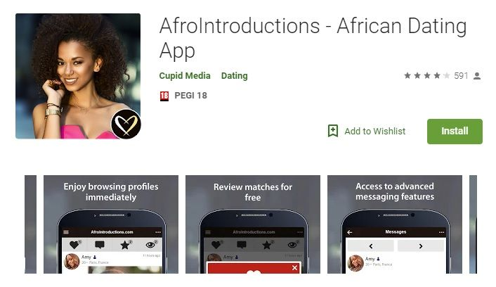 AfroIntroductions App Download