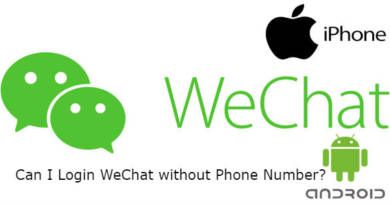 Can I Login WeChat without Phone Number
