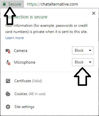 How to Allow Access to Blocked Microphone on Video Chat
