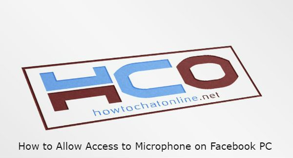How to Allow Access to Microphone on Facebook PC | How to Chat Online
