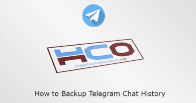 How to Backup Telegram Chat History