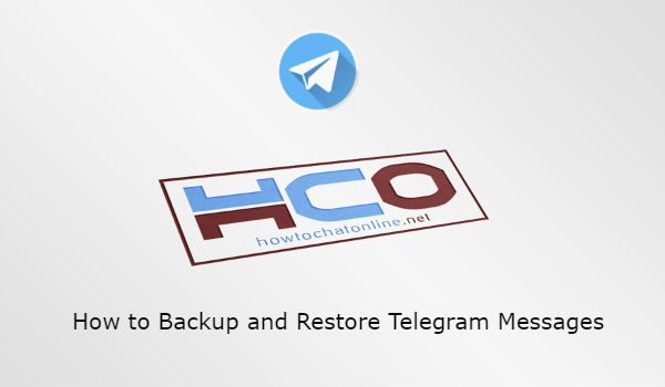 How to Backup and Restore Telegram Messages