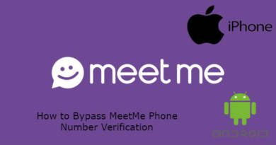 How to Bypass MeetMe Phone Number Verification
