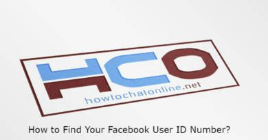 How to Find Your Facebook User ID Number