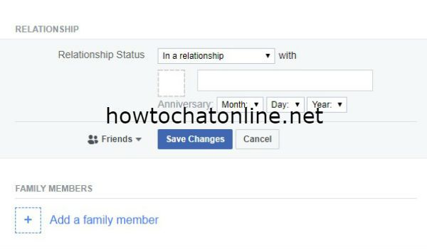 How to Show Relationship Status on Facebook Profile?